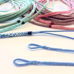 eyesplice Dyneema rope tapered twintail splicing rigging
